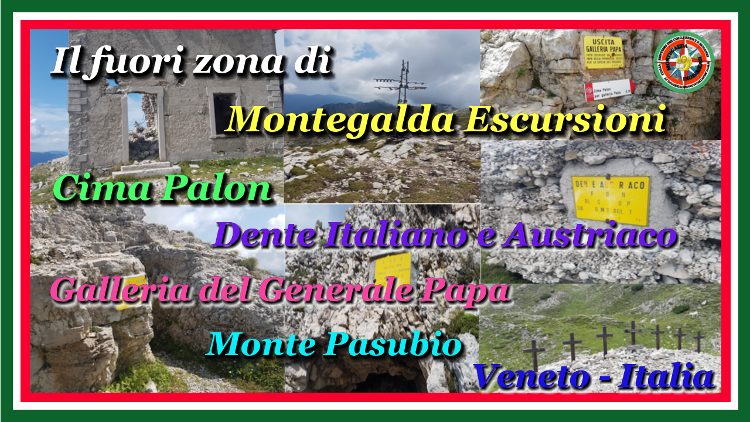 Monte Pasubio - Galleria del Generale Papa - video