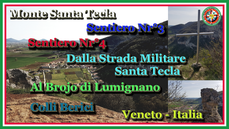 video escursione dalla strada militare santa tecla al brojio